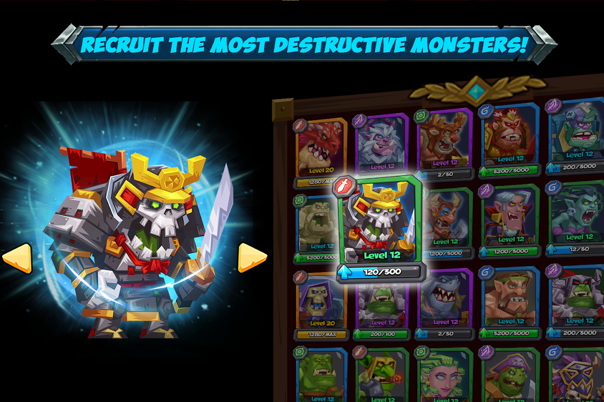 Android Tactical Monsters Rumble Arena -Tactics & Strategy Screen 8