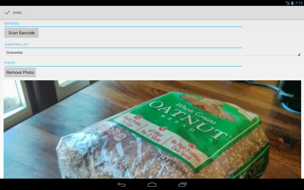 Our Groceries Shopping List 2.13.2 Screen 14