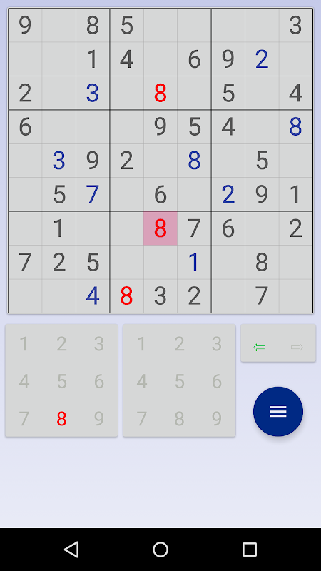 Sudoku: 3 in 1 1.7.3 Screen 4