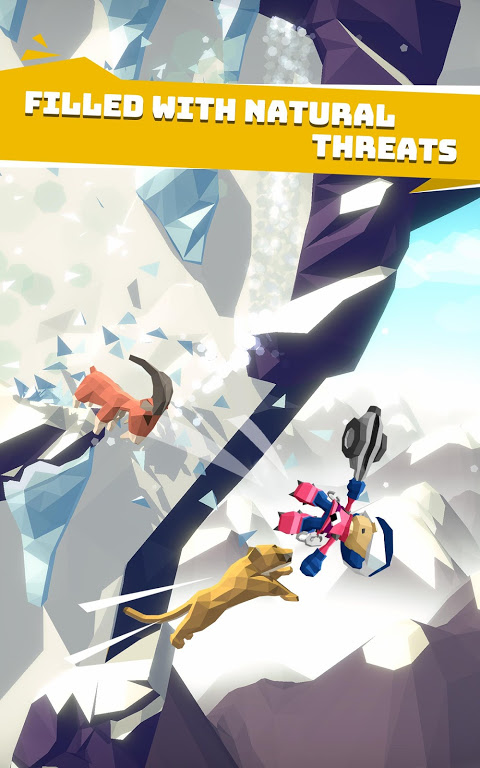 Android Hang Line: Mountain Climber Screen 2