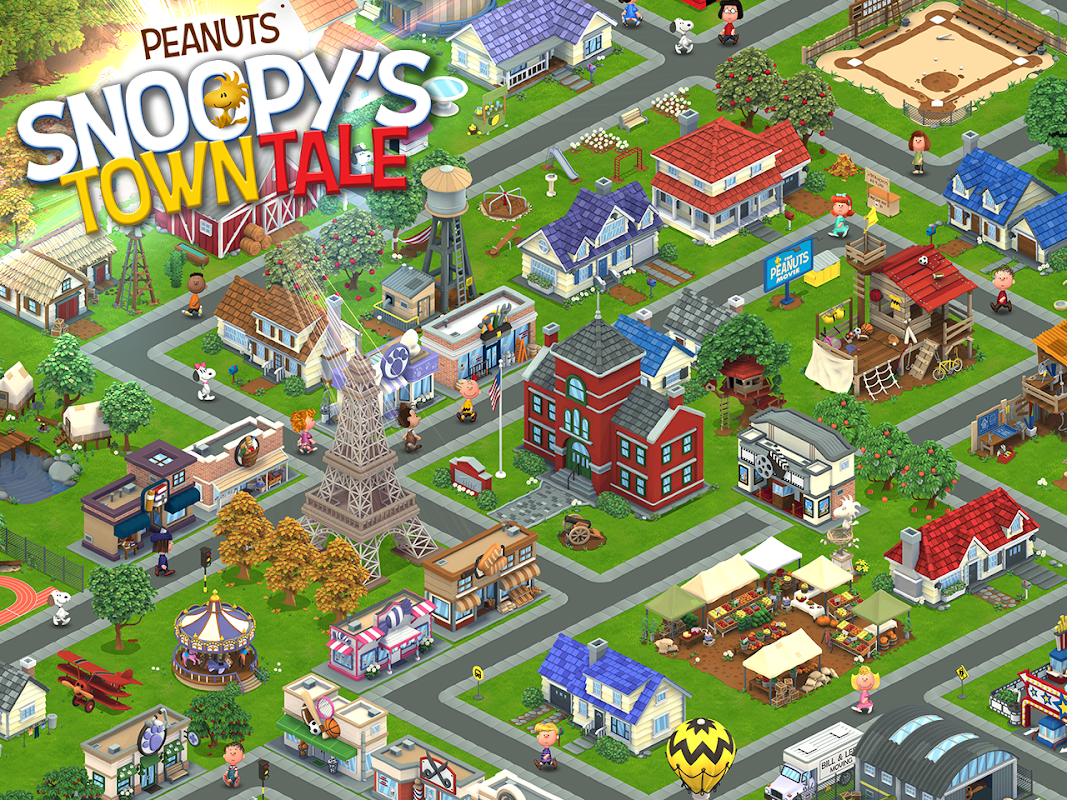 Snoopy's Town Tale - City Building Simulator 3.3.9 Screen 6
