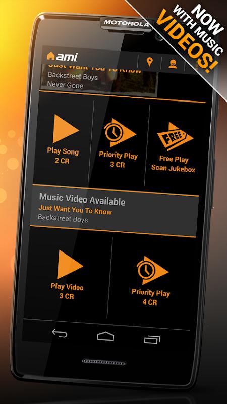 AMI Music (formerly BarLink) 2.28.1 Screen 4