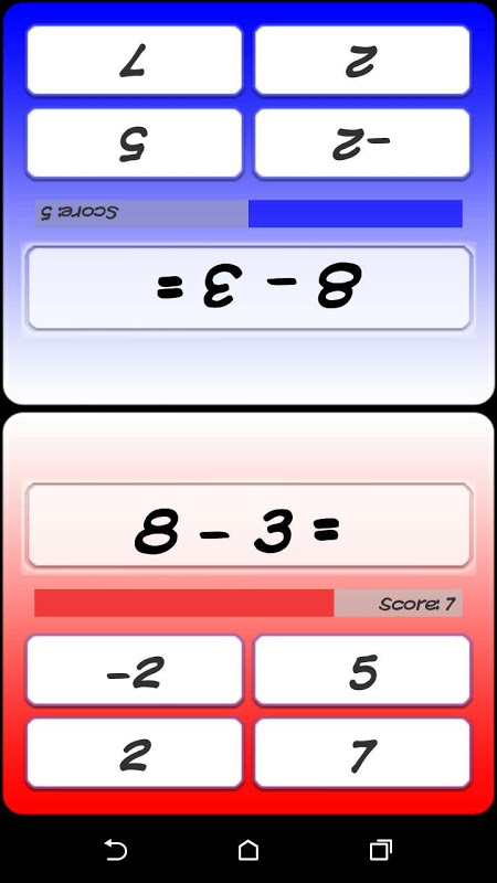 Android Kokotoa - Math For the Brain Screen 2