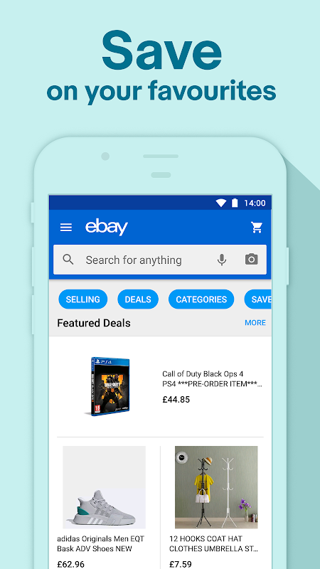 eBay Shopping Deals & Discounts - Buy, Sell & Save 5.28.1.1 Screen 3