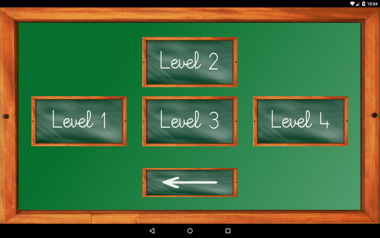 Android Maths Trainer Screen 17