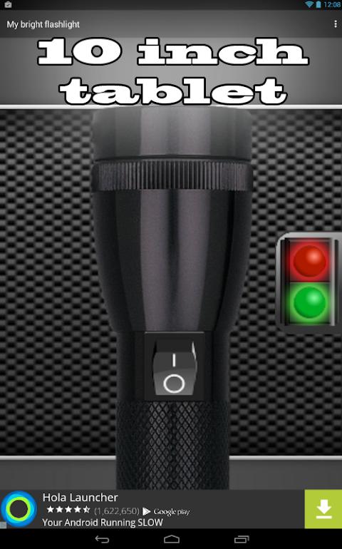 Android My Bright Flashlight Screen 4