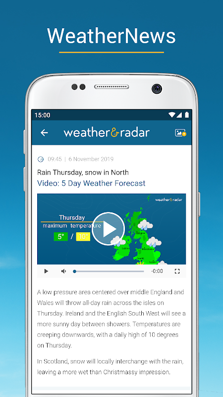Weather & Radar UK / Ireland 2019.1.1 Screen 18