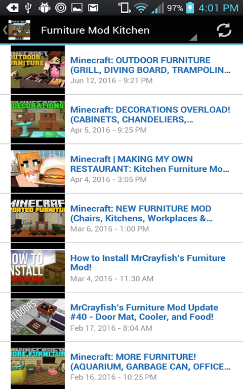 Android Furniture Mods For Minecraft Screen 12