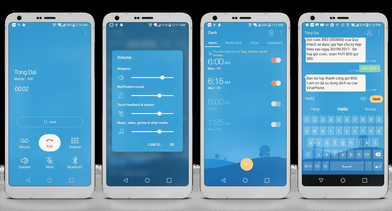 Morning Theme LG G6 G5 V20 V30 APKs | Android APK