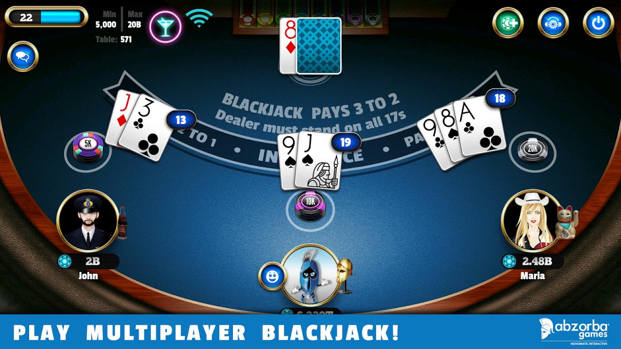 BlackJack 21 6.6.9 Screen 4