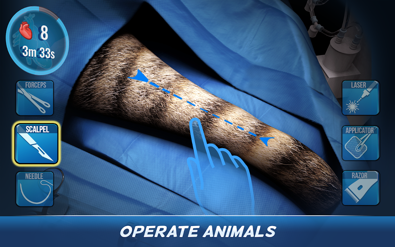 Operate Now: Animal Hospital 0.9.3 Screen 5
