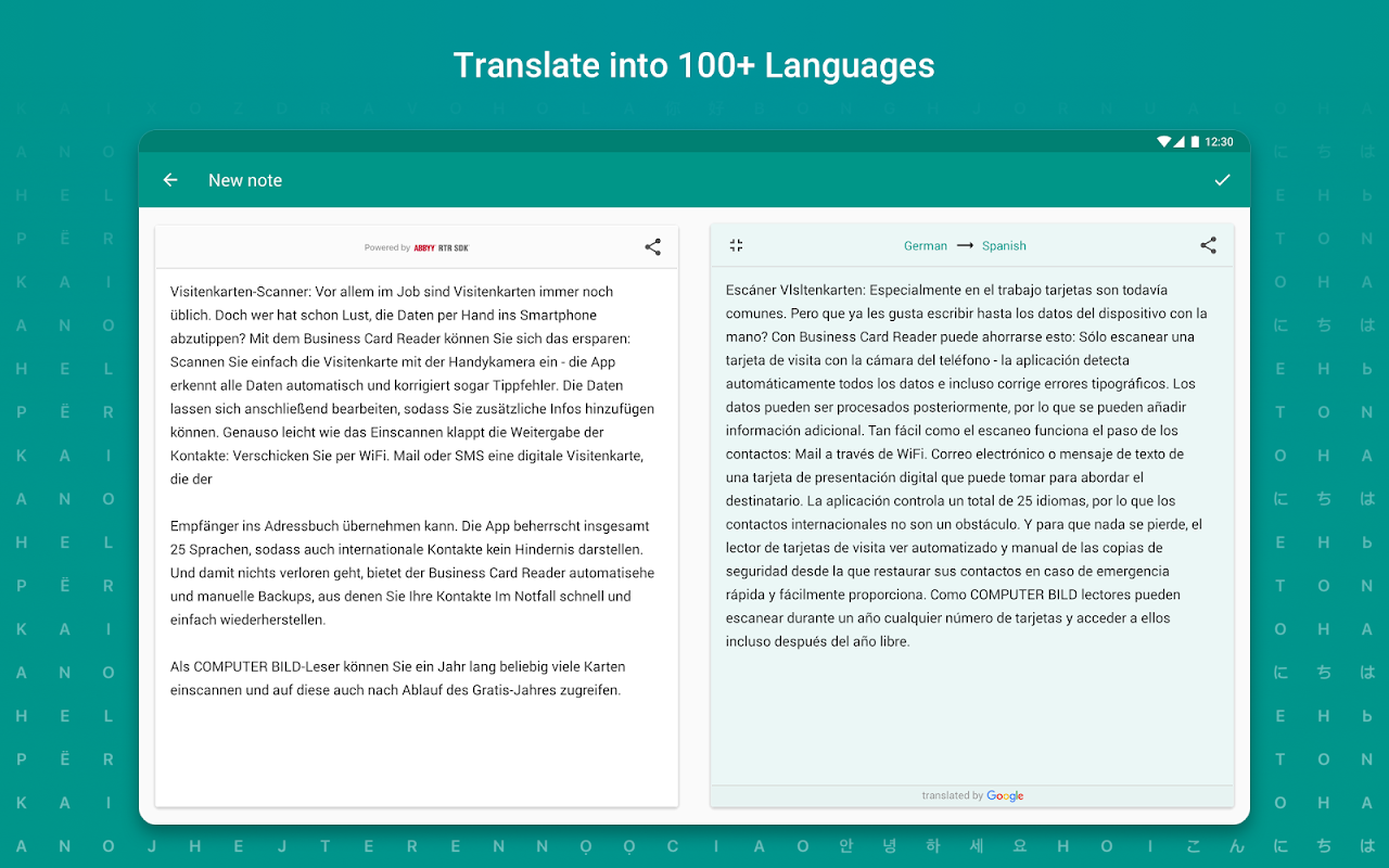 TextGrabber Offline Scan & Translate Photo to Text 2.5.3.3 Screen 8