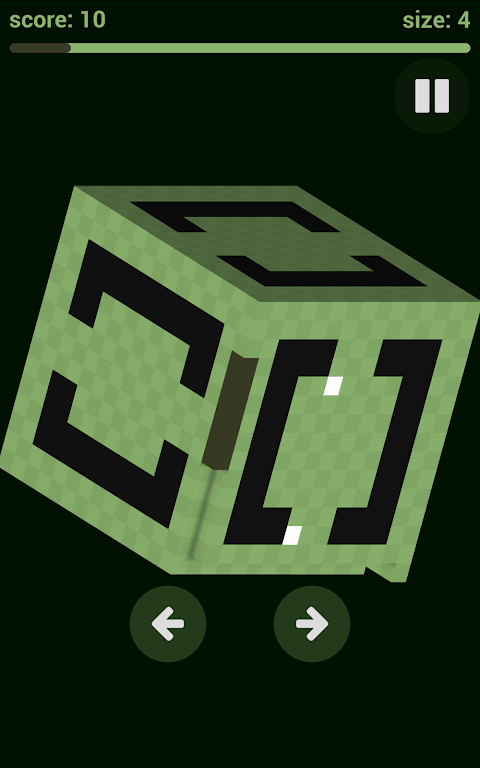 Android Voxel Snake 3D Screen 4