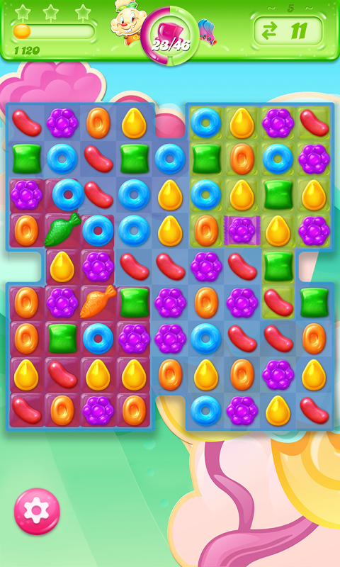 Android Candy Crush Jelly Saga Screen 2