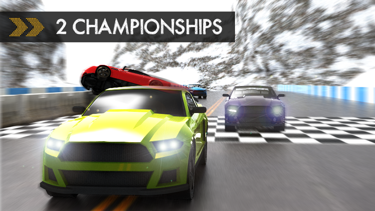 Android Car Racing Screen 3