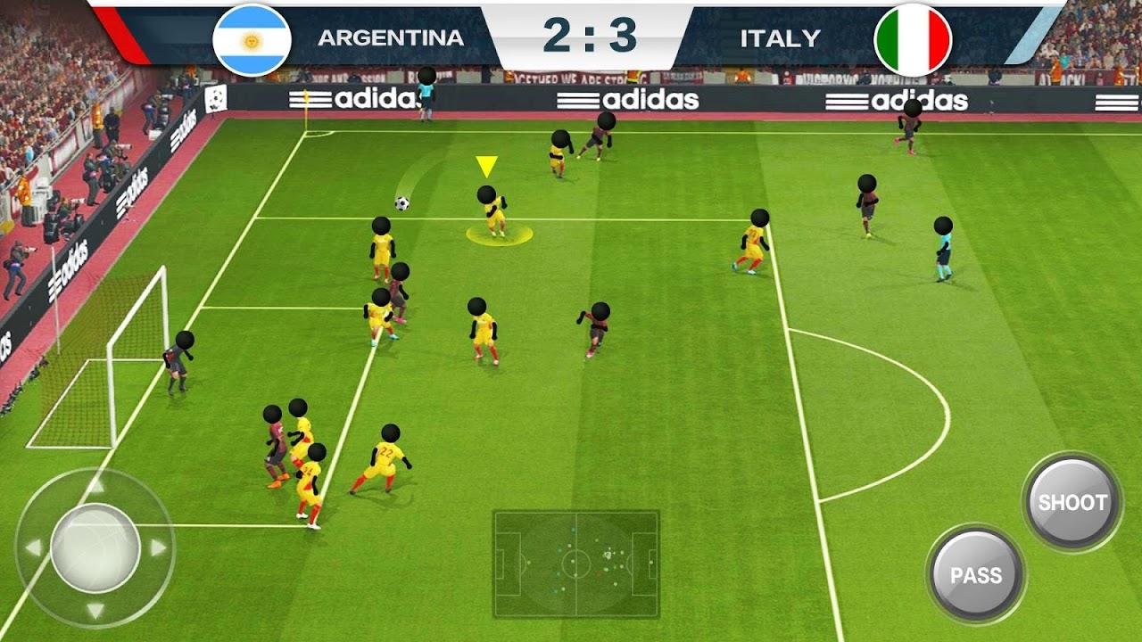 Android 2019 Football Fun - Fantasy Sports Strike Games Screen 1