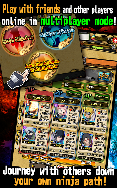 Android Ultimate Ninja Blazing Screen 6