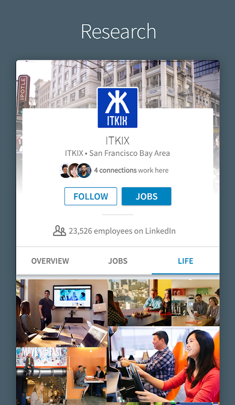 LinkedIn 4.1.195 Screen 4