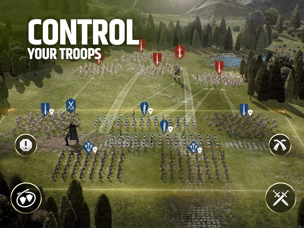 Android Dawn of Titans - Epic War Strategy Game Screen 7
