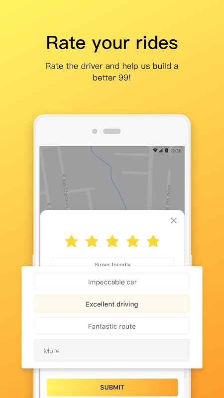 Android 99 - Taxi and private drivers Screen 3