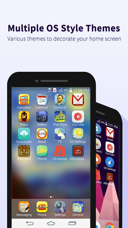 OS10 Launcher for Phone 7 APKs | Android APK