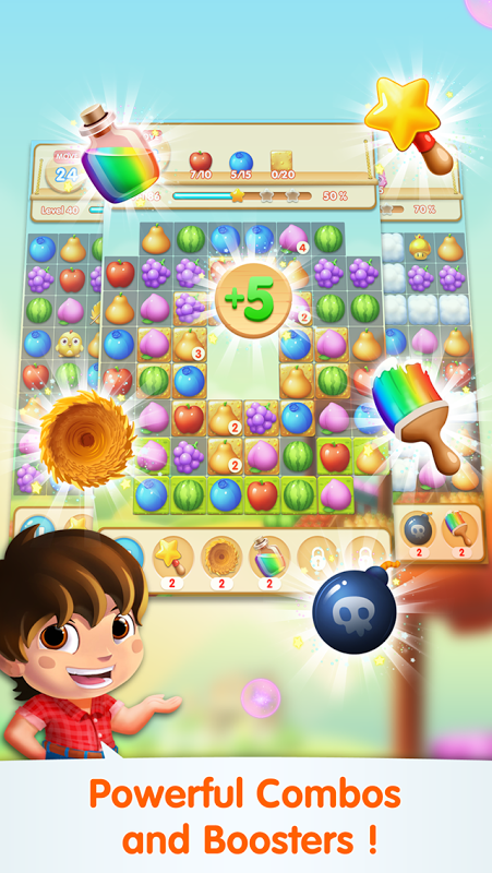 Android Fruit Blast Mania Screen 1