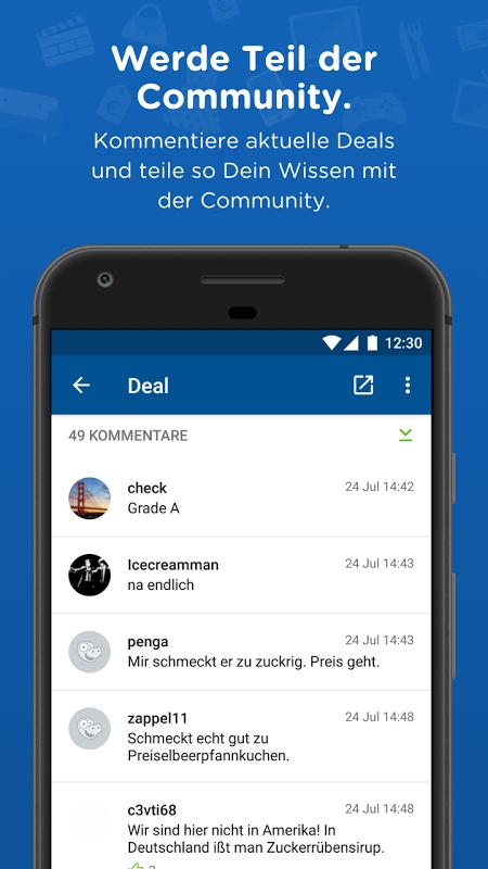 mydealz – Gutscheine & Deals 5.3.03 Screen 2