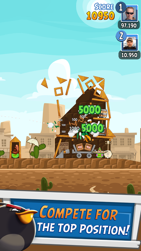 Android Angry Birds Friends Screen 4