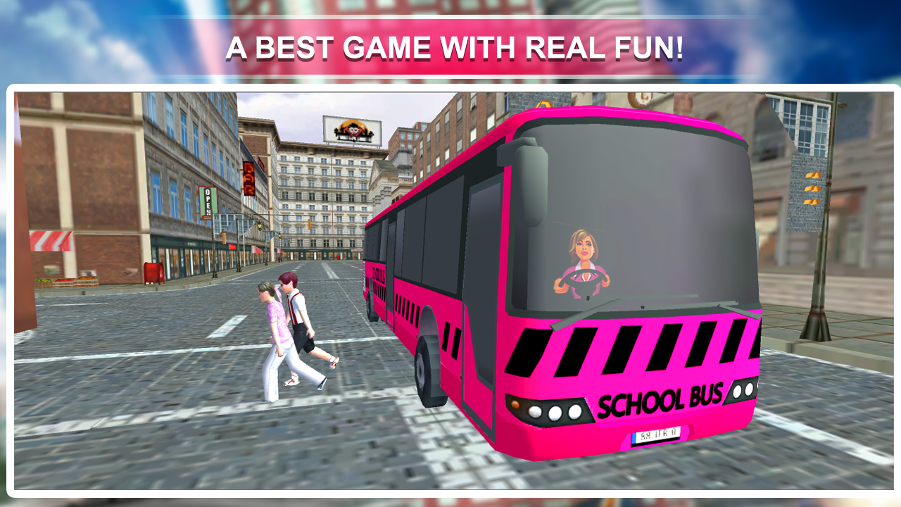 Pink Lady School Bus Driver 1.1 Screen 3