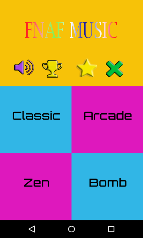 Piano Tiles for FNAF 2.0 Screen 1