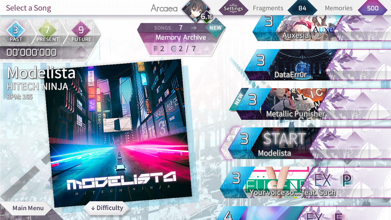 Arcaea - New Dimension Rhythm Game 2.0.3 Screen 7