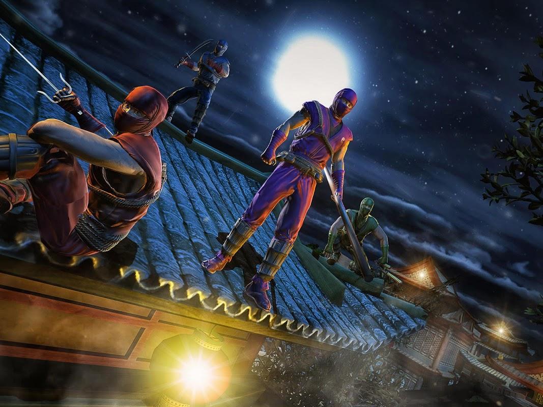 Android Ninja Fighting Spree Screen 11