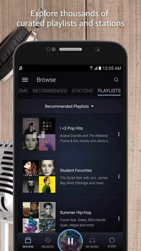 Amazon Music 7.8.4_307080410 Screen 7