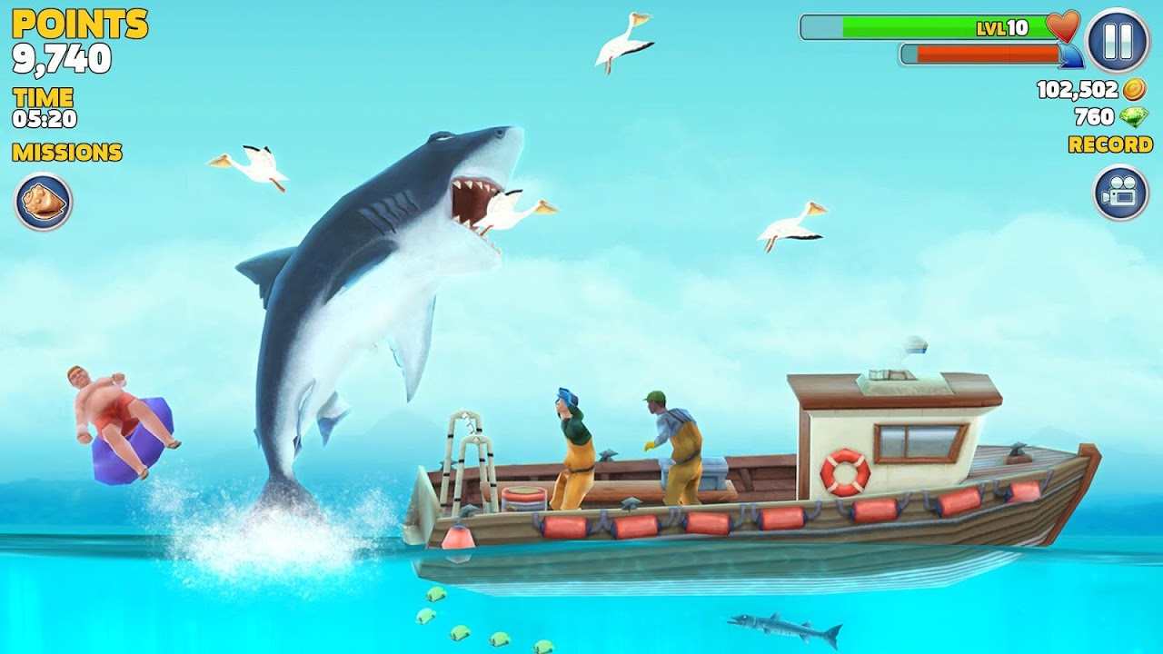 Android Hungry Shark Evolution (Mod) Screen 10