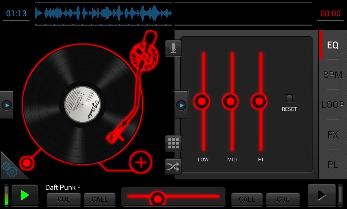 Android DJStudio Screen 6