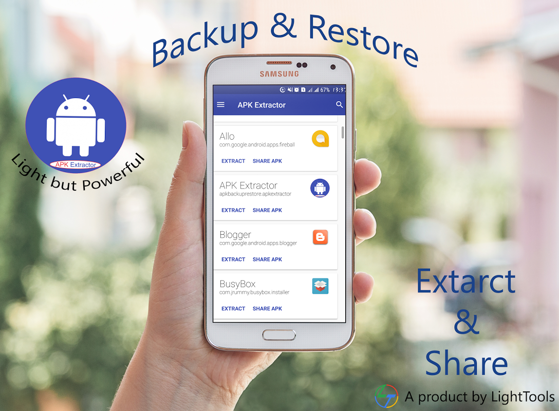 Android APK Extractor - APP Backup Screen 8