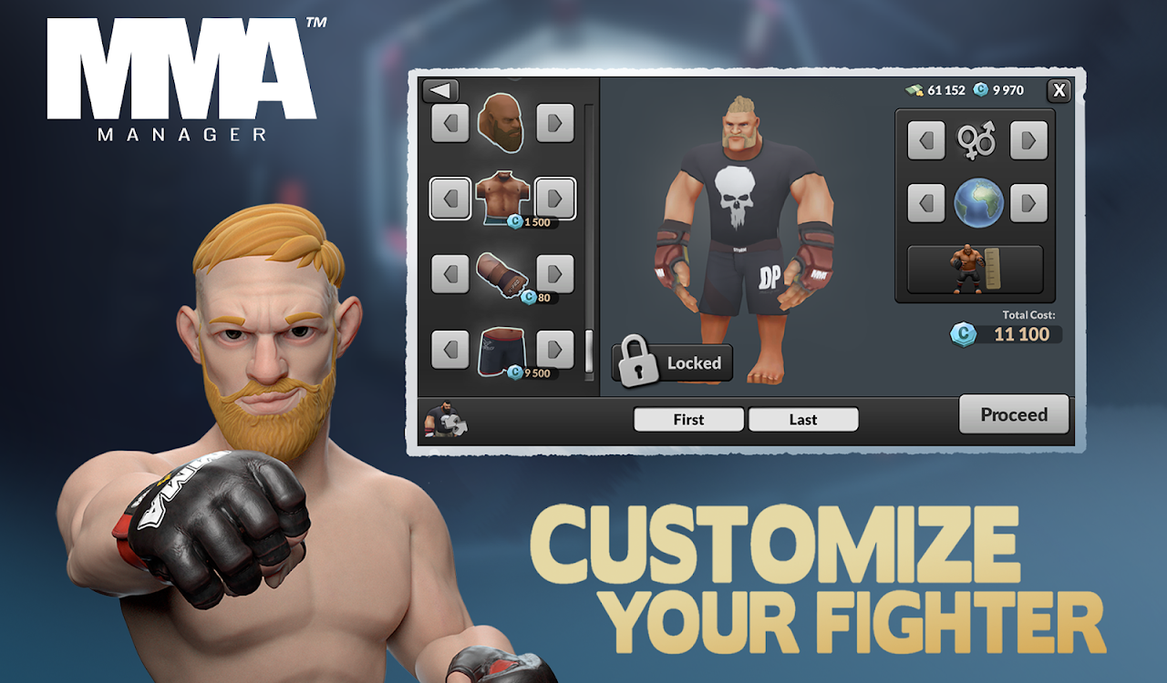 MMA Manager 0.8.4 Screen 19