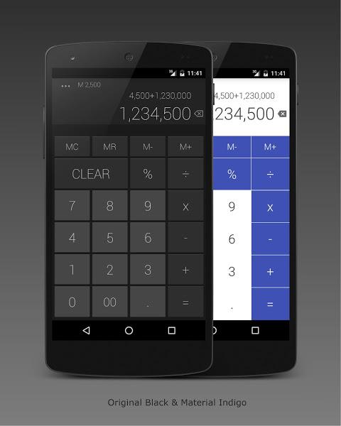 Calculator 1.10.9 Screen 1