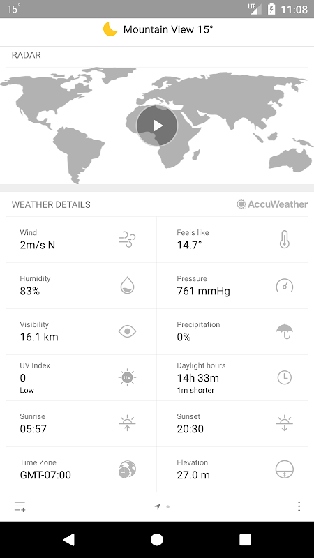 Weather Mate (Weather M8) 1.3.9 Screen 3