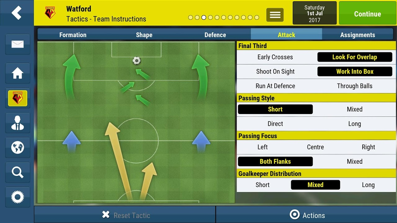 Football Manager Mobile 2018 9.0.3 (ARM) Screen 3