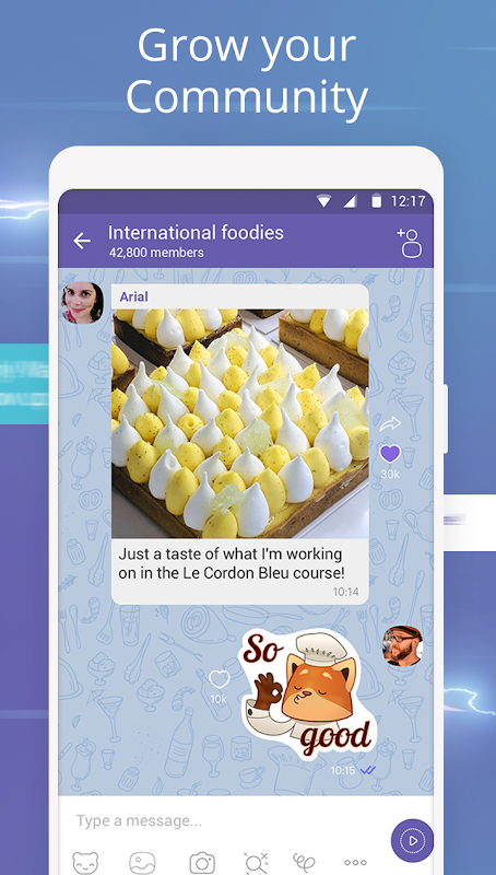 Viber Messenger 9.9.4.11 Screen 4