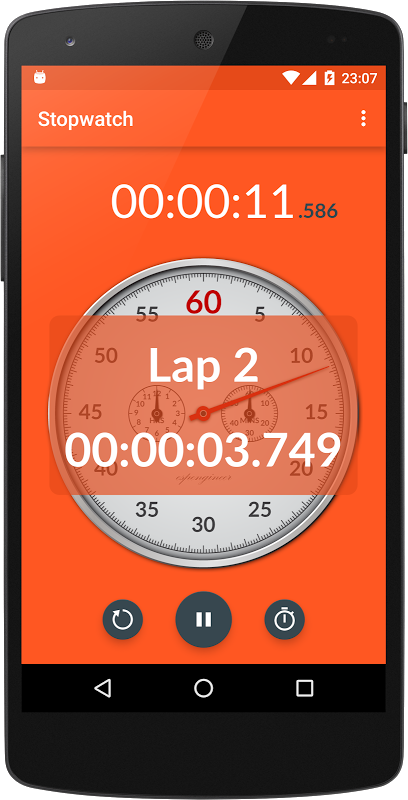 Chronometer 2.4 Screen 1