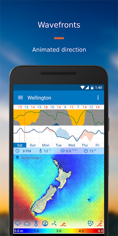 Android Flowx: Weather Map Forecast App Screen 5