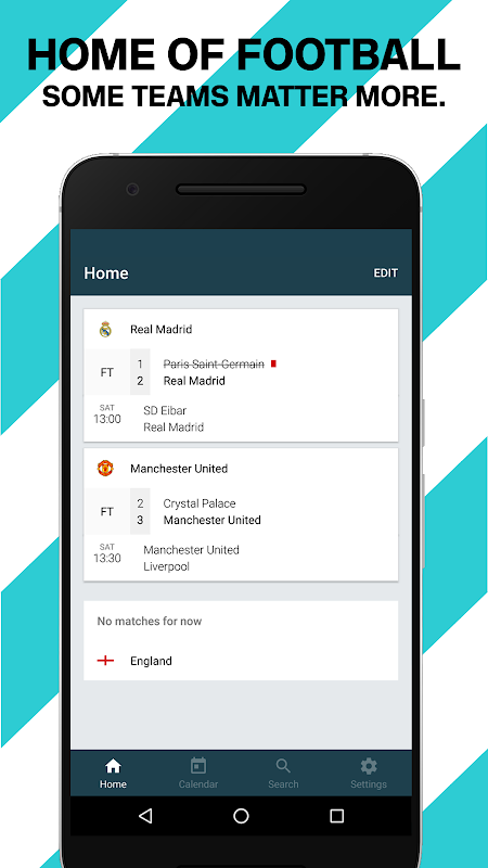 Forza Football - Live scores 4.2.8 Screen 4