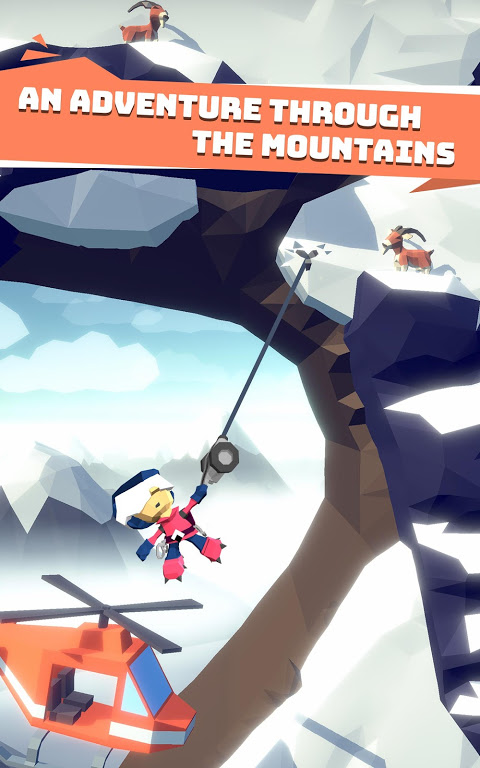Android Hang Line: Mountain Climber Screen 1
