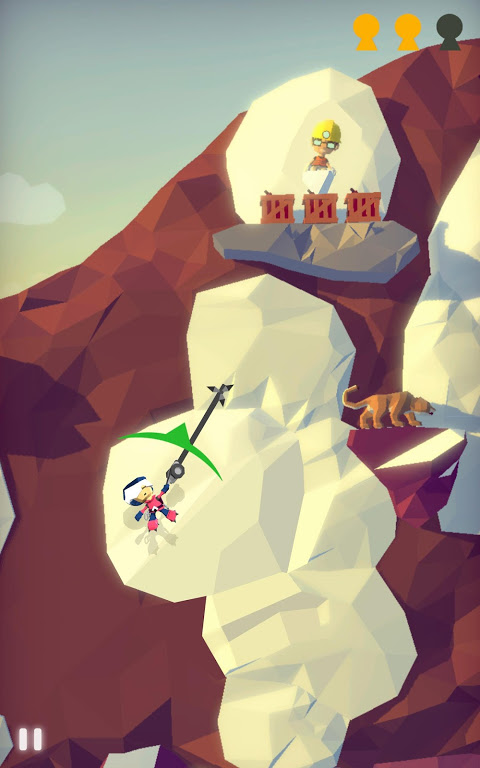 Android Hang Line: Mountain Climber Screen 9