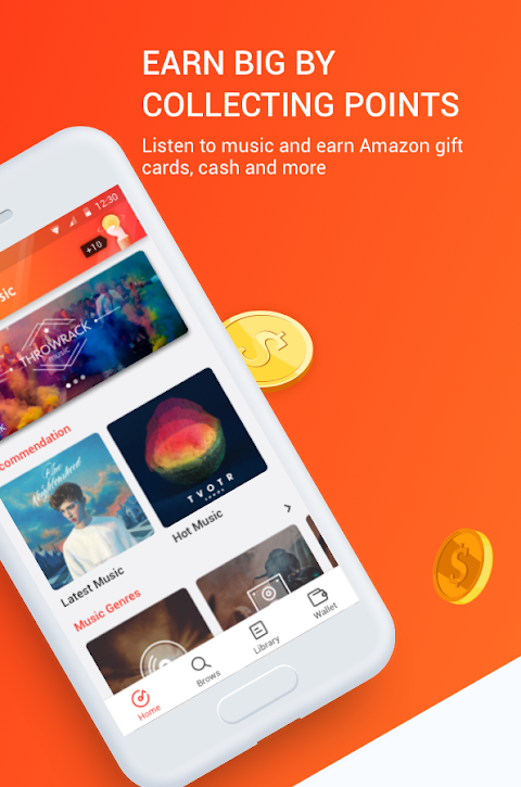 Android Marni Music - Free Music & Earn Real Money Screen 1