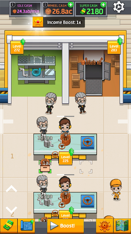 Idle Factory Tycoon 1.76.0 Screen 2