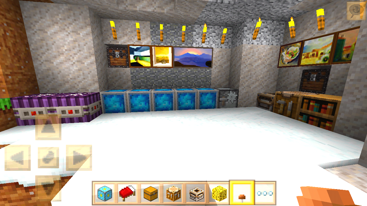 Android Extreme Craft: Building Screen 6