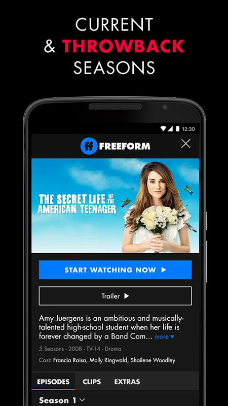 Android Freeform – Stream Full Episodes, Movies, & Live TV Screen 3